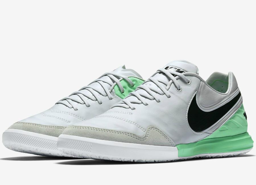 db28f3c7f6a0 Nike TiempoX Proximo IC Motion Blur - Pure Platinum   Electro Green   Black