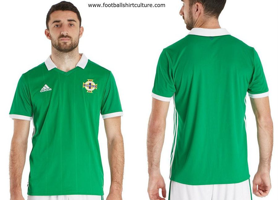 Northern Ireland 2018 Adidas Home Kit