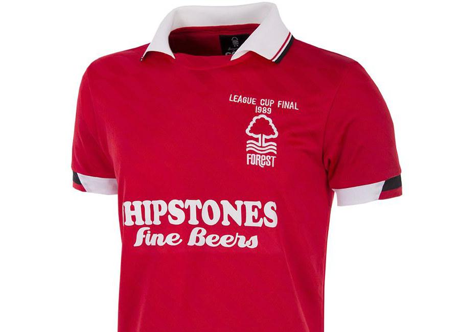 Nottingham Forest 1989 League Cup Final Retro Shirt