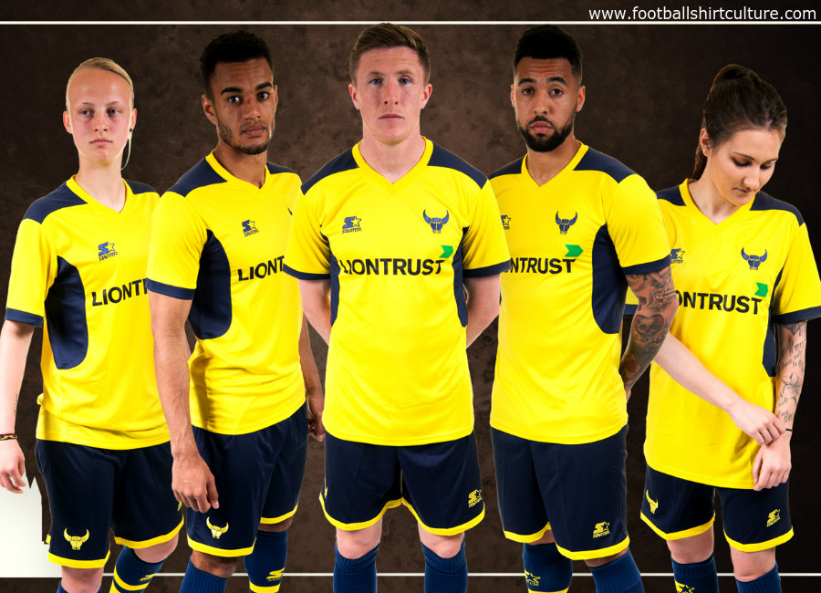 Oxford United 2017 18 Starter Home Kit