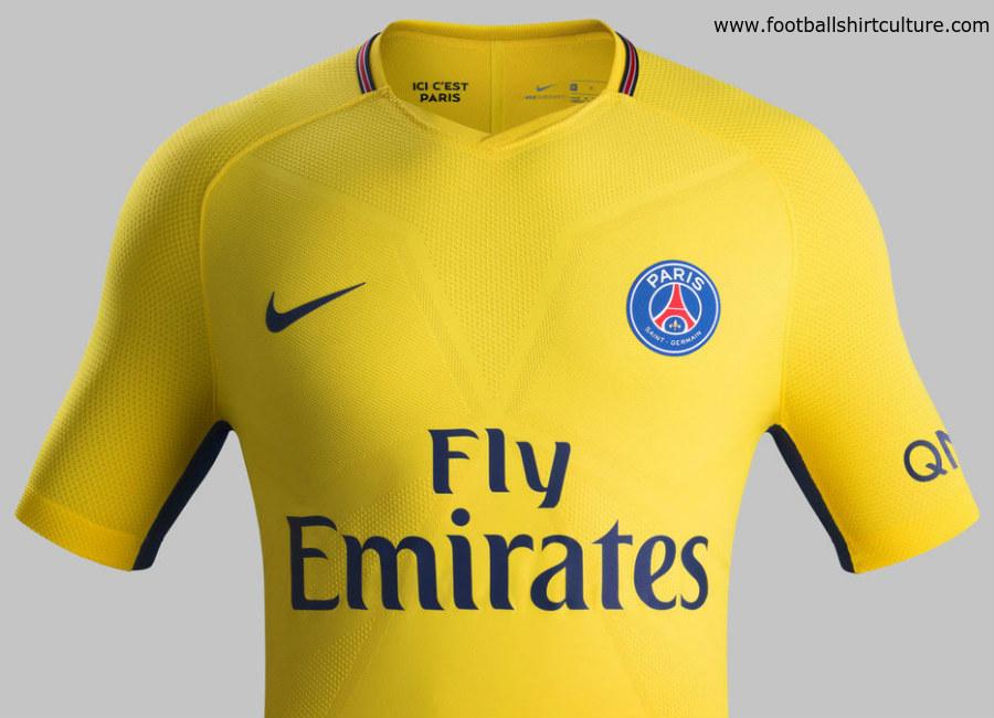 Paris Saint-Germain 17 18 Nike Away Kit  dc7d73cfd