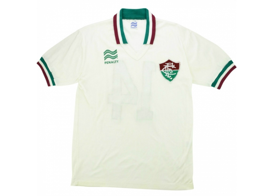 Penalty 1986 Fluminense Match Worn Away Shirt