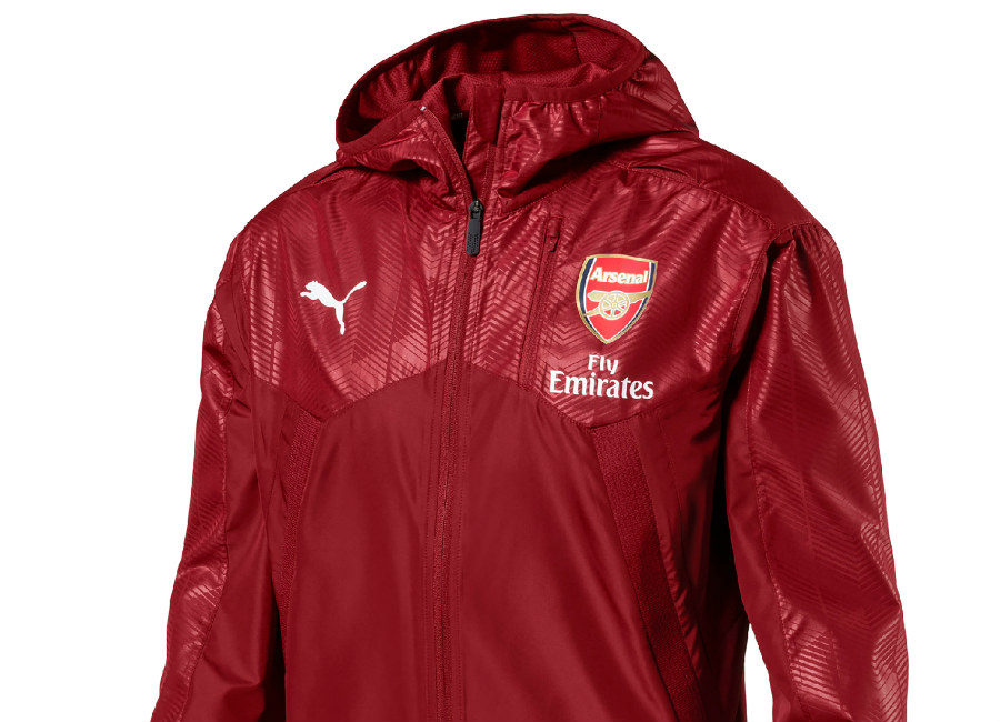 Puma Arsenal FC 17/18 Vent Thermo-R Jacket - Red