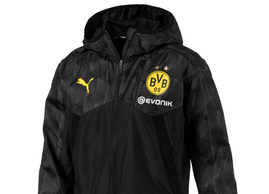 Puma Borussia Dortmund 17/18 Vent Thermo-R Jacket - Black