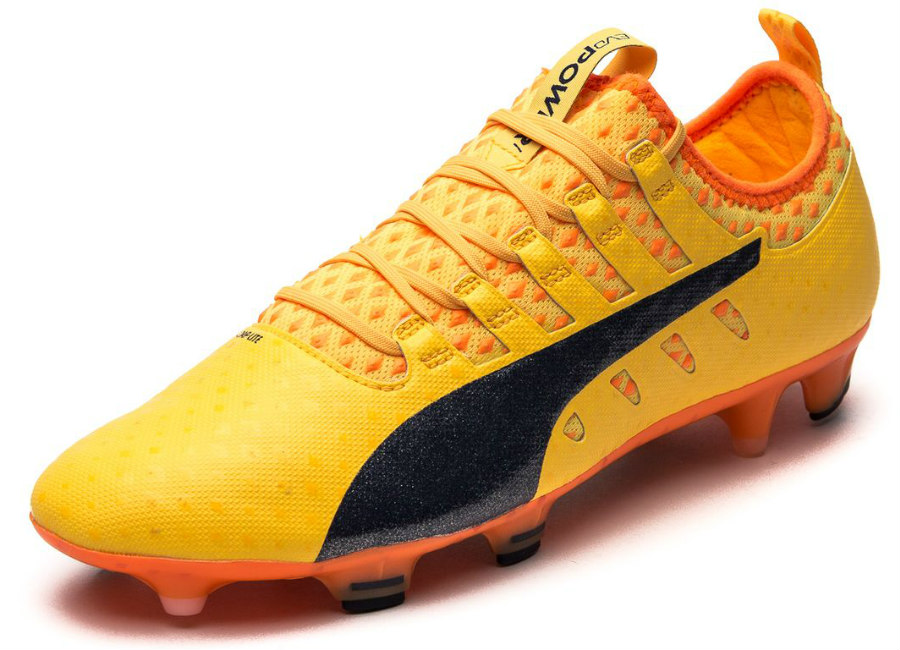 Puma Evopower Vigor 1 Fg Ultra Yellow Peacoat Orange Clownfish