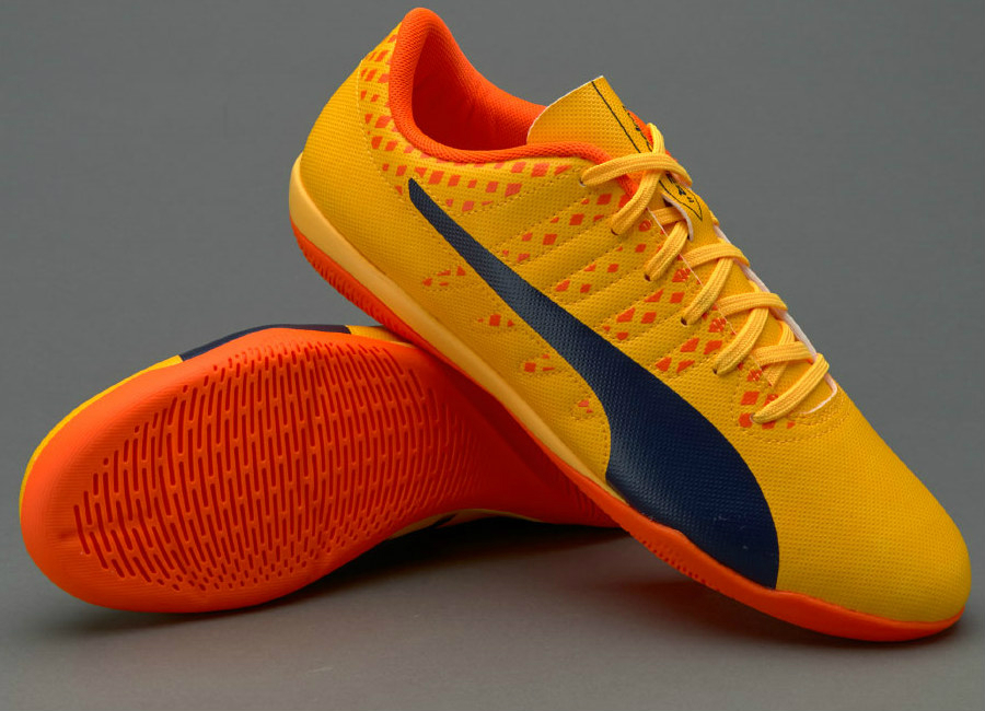 c74c9be5a Puma evoPOWER Vigor 4 IT - Ultra Yellow / Peacoat / Orange Clown ...