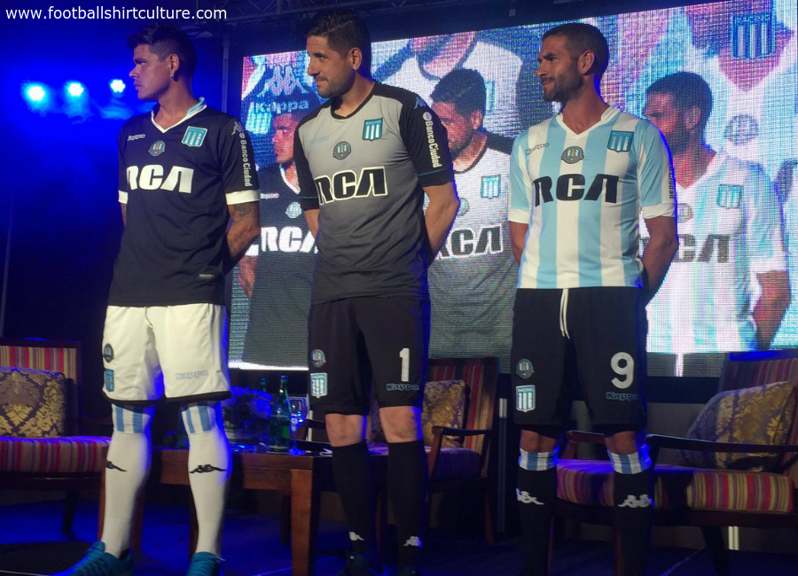 Racing Club 2017 Kappa Home Away Kits