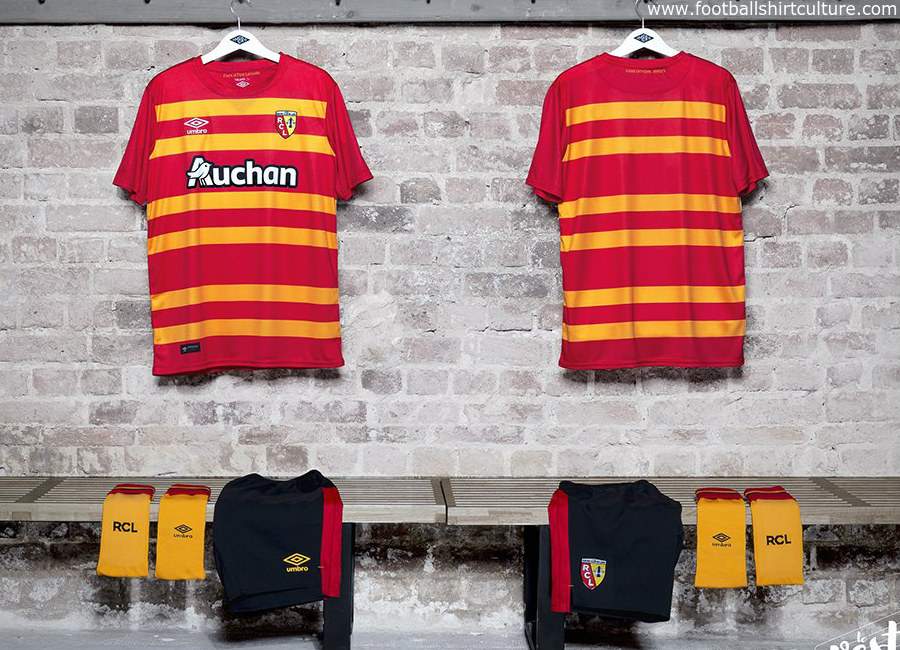 RC Lens 2017 Umbro Supporters Kit