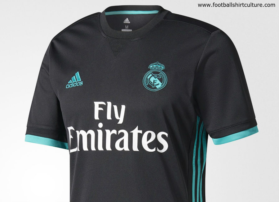Real Madrid 17 18 Adidas Away Kit
