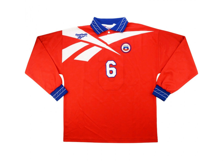 Reebok 1998 Chile Match Issue Home Shirt