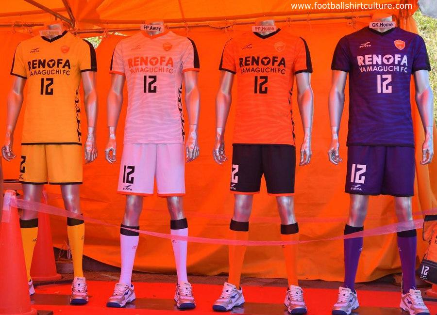 Renofa Yamaguchi 2018 Finta Football Kits