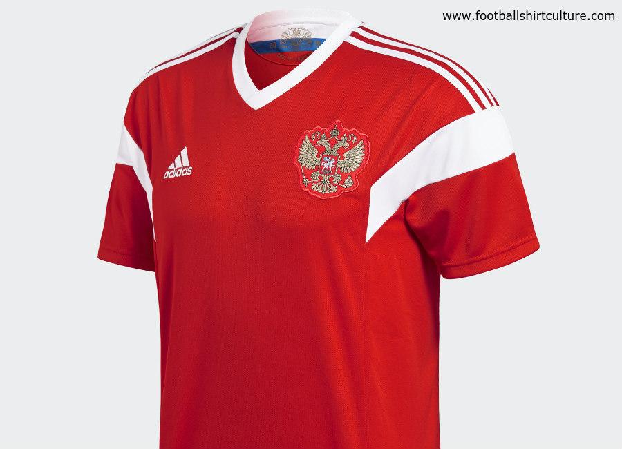 on sale 756df 25e57 Russia 2018 World Cup Adidas Home Kit | 17/18 Kits ...