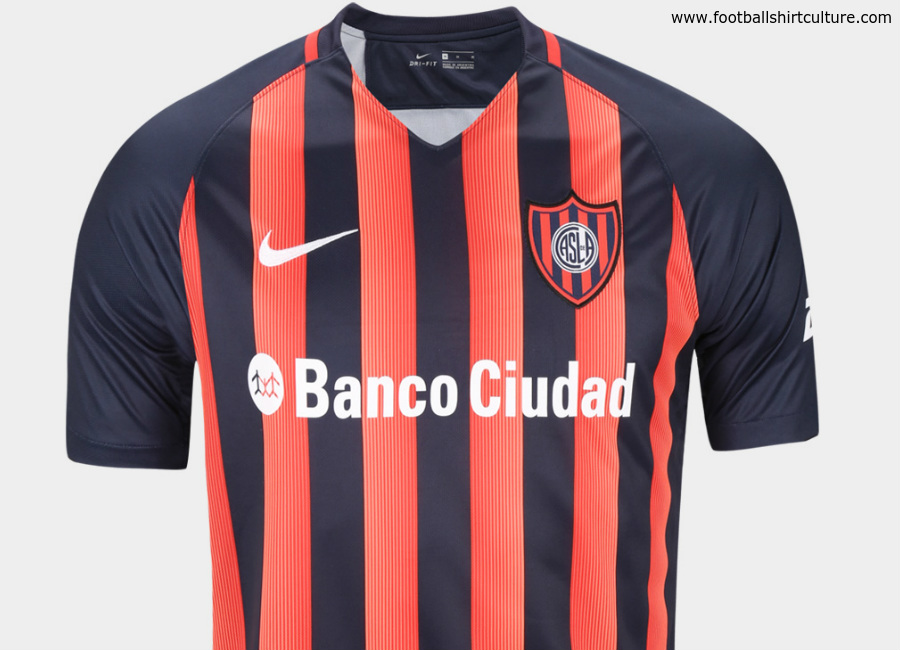 San Lorenzo 2017 Nike Home Away Shirts
