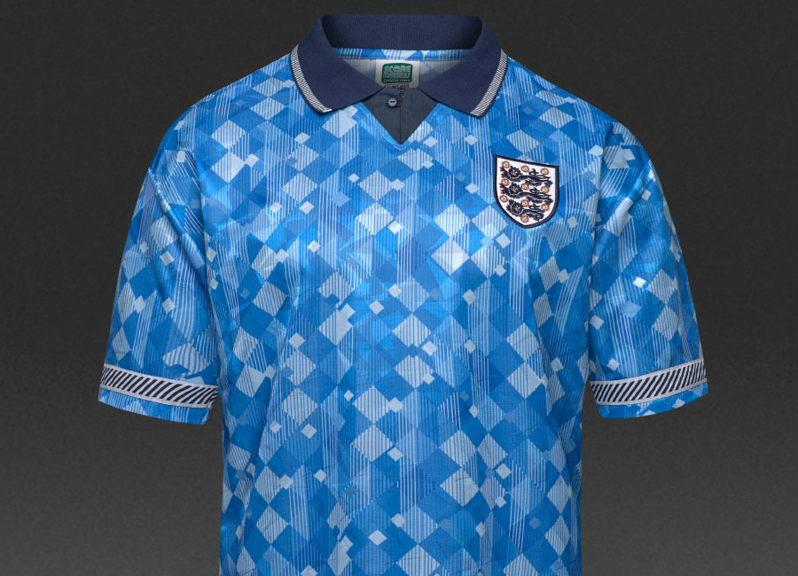 Score Draw England 1990 Retro Third Shirt