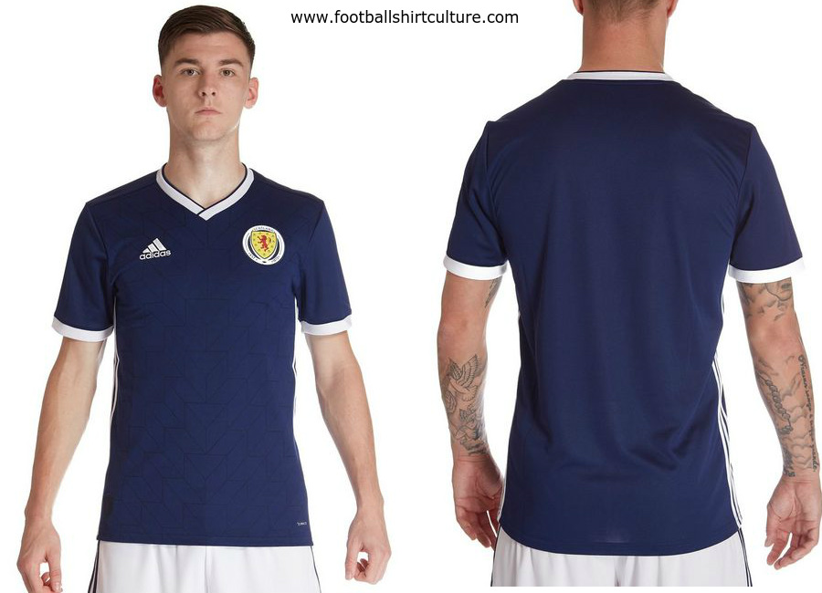 Scotland 2017-19 Adidas Home Kit