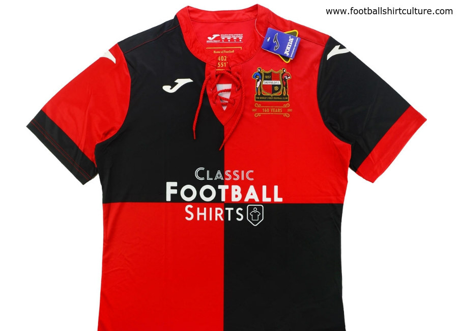 515a72fbf Sheffield FC 160th Anniversary Joma Shirt
