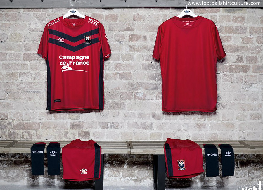 SM Caen 2017 Umbro Supporters Kit