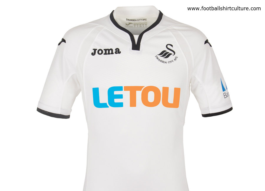 3814a2bbc Swansea City 2017-18 Joma Home Kit. Details  19 June 2017