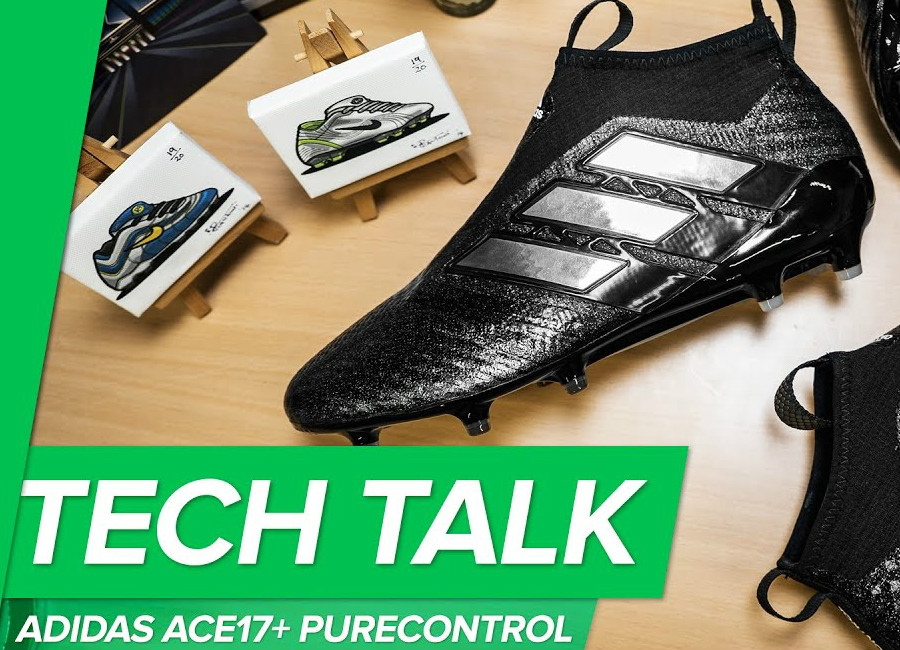 Tech Talk: Adidas ACE17+ Purecontrol - Laceless Checkered Black Pro Version