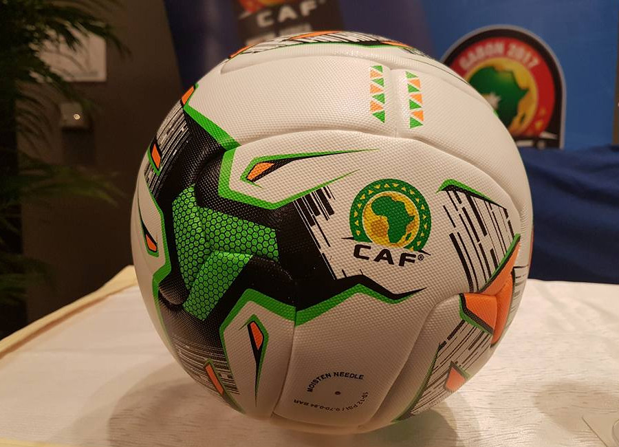 The Official Match ball for the Africa cup of Nations 2017