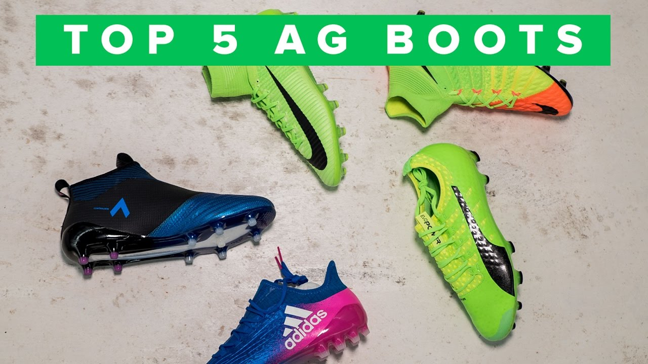 Top 5 - Artificial Grass Football Boots