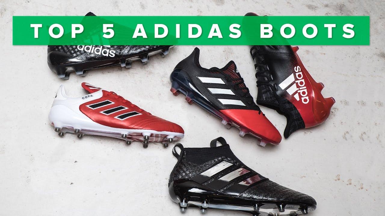 Top 5 Best Adidas Football Boots 2017