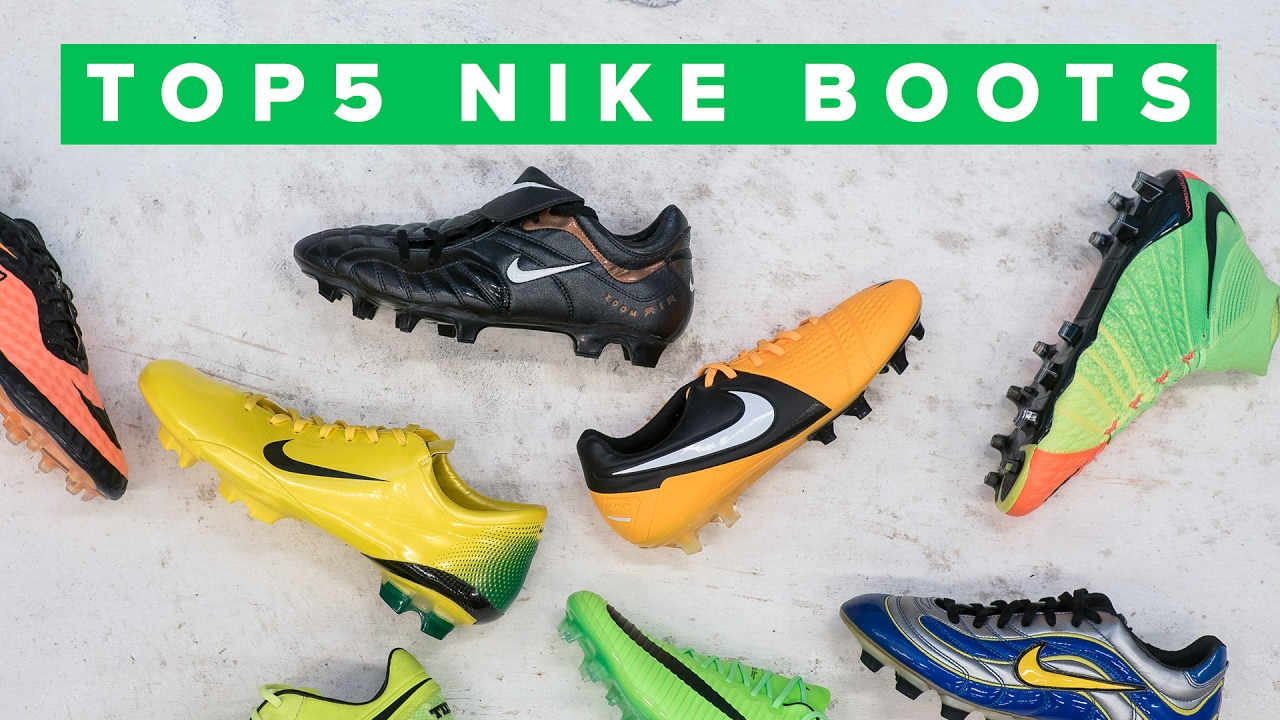 Top 5 Best Nike Football Boots Ever