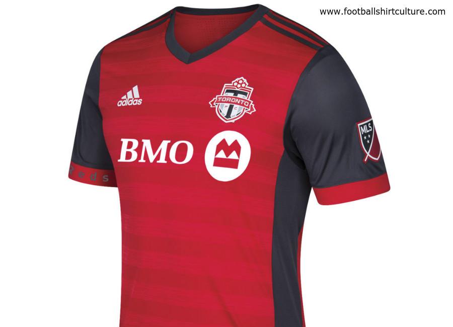 online store eb7ef cdba9 Toronto FC 2017 Adidas Home Kit | 17/18 Kits | Football ...