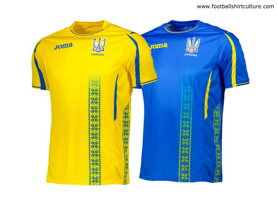 Ukraine 2017 Joma Home and Away Kits. Details  19 March 2017 e895a0853