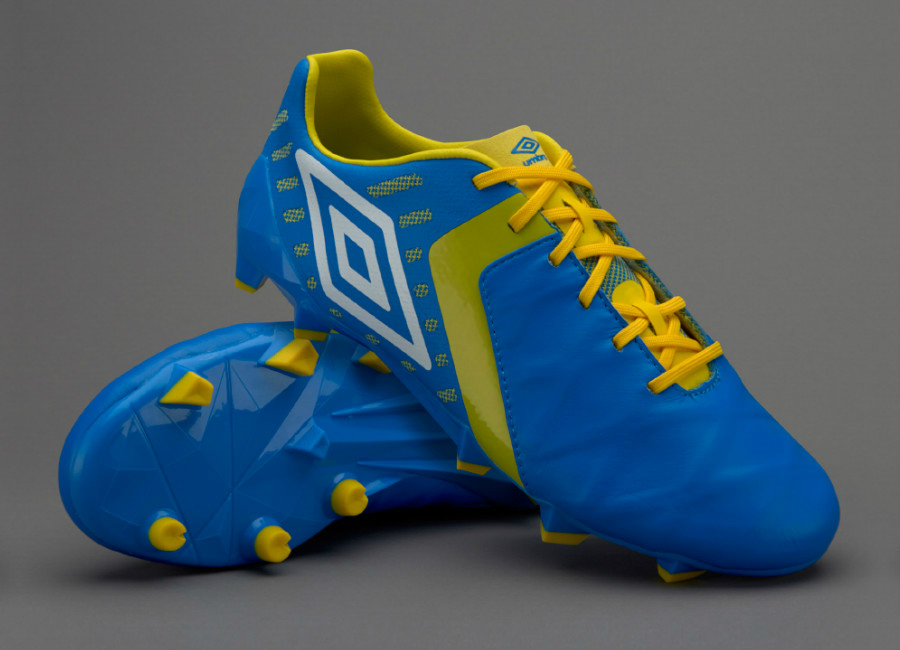 Umbro Medusae Ii Pro Fg Electric Blue White Blazing Yellow