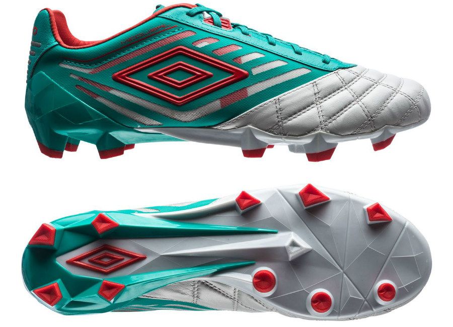 Umbro Medusae Pro Hg Dawn Blue Fiery Red Spectra Green