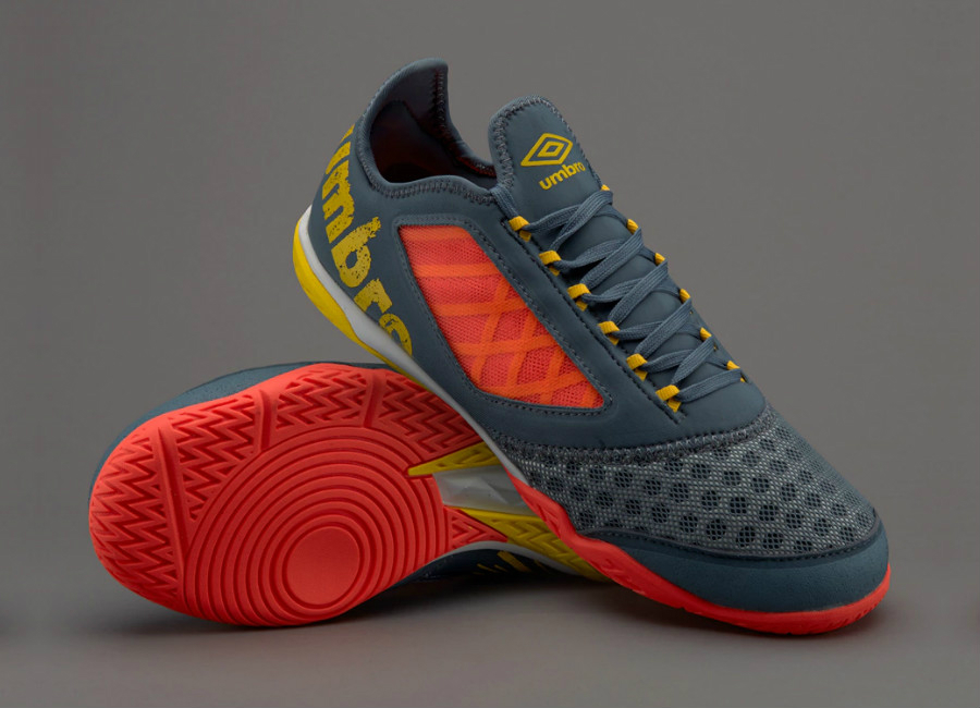 0d8831c9feaa1 Umbro Vision Plus Pro - Stormy Weather   Blazing Yellow   Fiery Coral