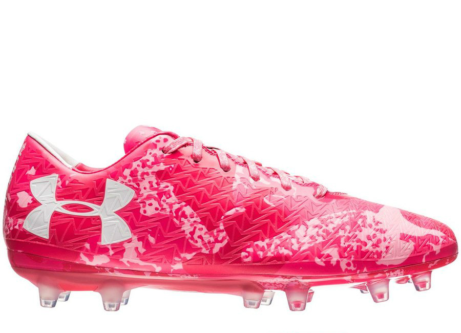 Under Armour Clutchfit Force 3 0 Fg Cerise Pink Craze White
