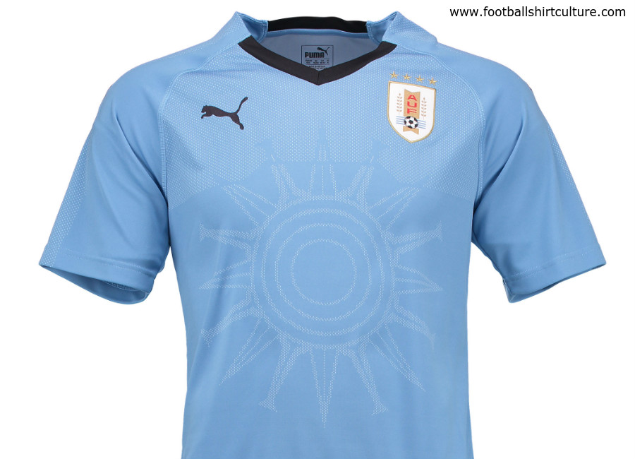 Uruguay 2018 World Cup Puma Home Kit 17 18 Kits