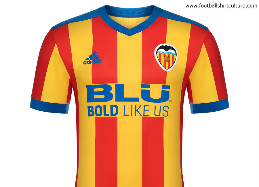 ebbe049dde4 This is the new Valencia 17 18 Away football kit by Adidas.
