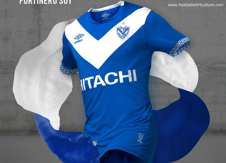 Velez Sarsfield 2017 Umbro Away Shirt