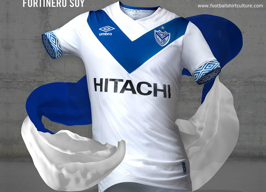 Velez Sarsfield 2017 Umbro Home Shirt