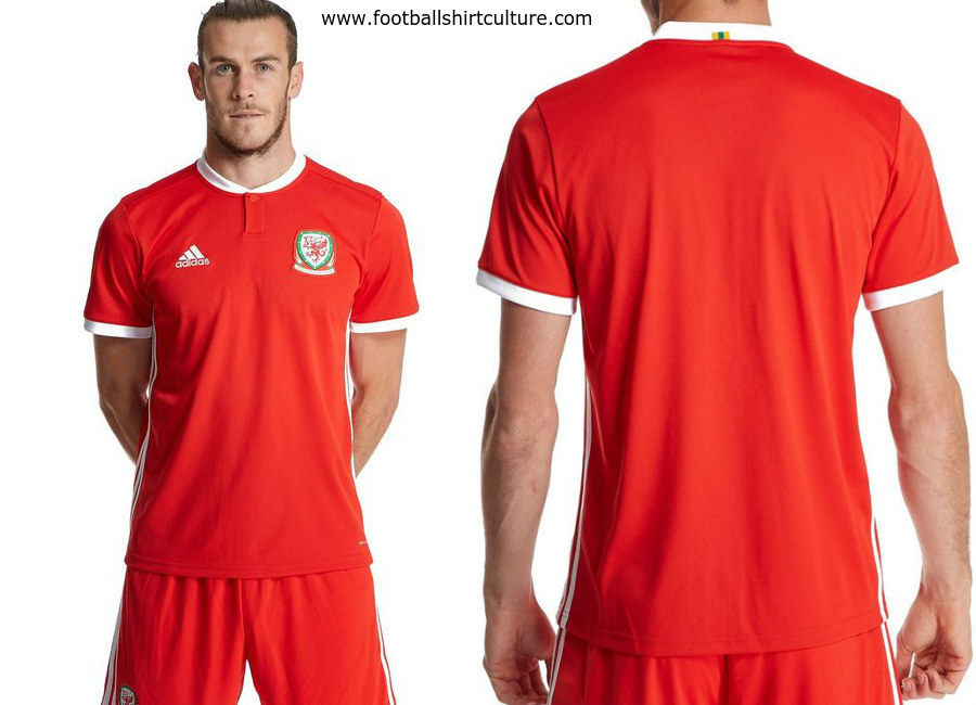 993c36b27a3 Wales 2018 Adidas Home Kit | 17/18 Kits | Football shirt blog