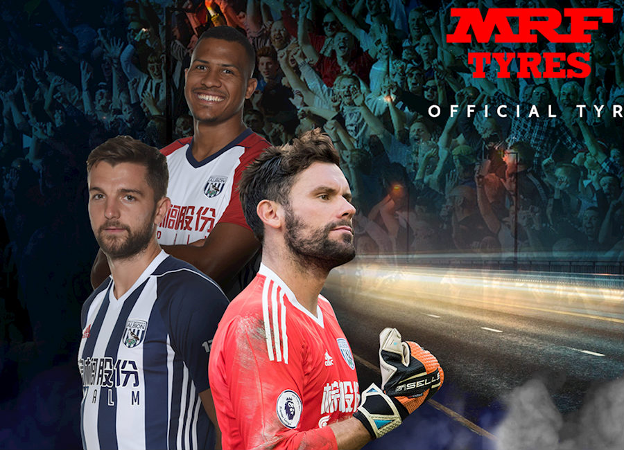 West Bromwich Albion Announce Mrf Sleeve Sponsor Deal