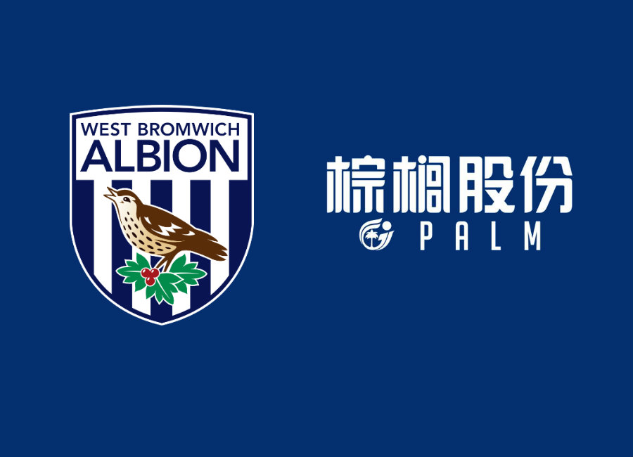 West Bromwich Albion Announce Palm Shirt Sponsorship Deal