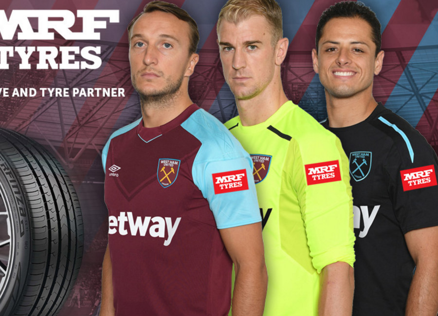 West Ham United Announce Mrf Sleeve Sponsor Deal