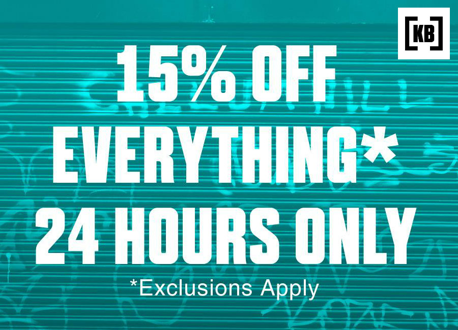 15 Off At Kitbag 24 Hours Only
