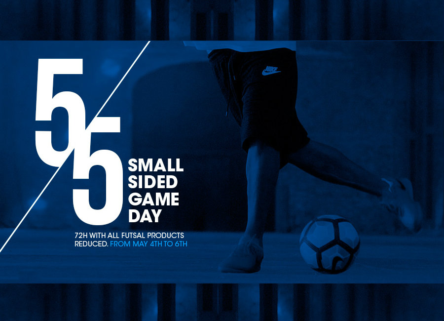 Small Sided Game Day - 72 Hours All Futsal Products Reduced