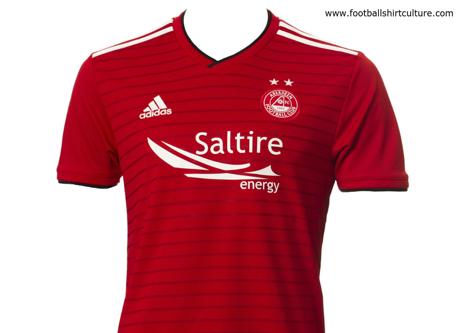 Aberdeen 2018-19 Adidas Home Kit