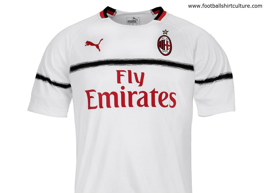 be077f0b1 AC Milan 2018-19 Puma Away Kit
