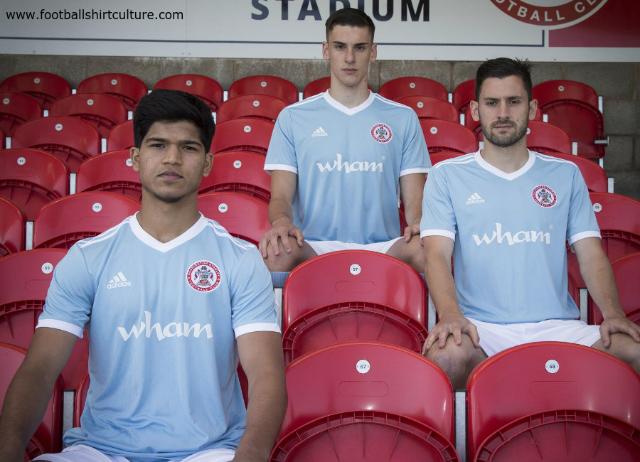 Accrington Stanley 2018-19 Adidas Away Kit