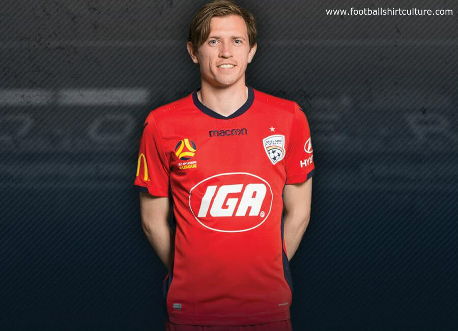 Adelaide United 2018-19 Macron Home Kit