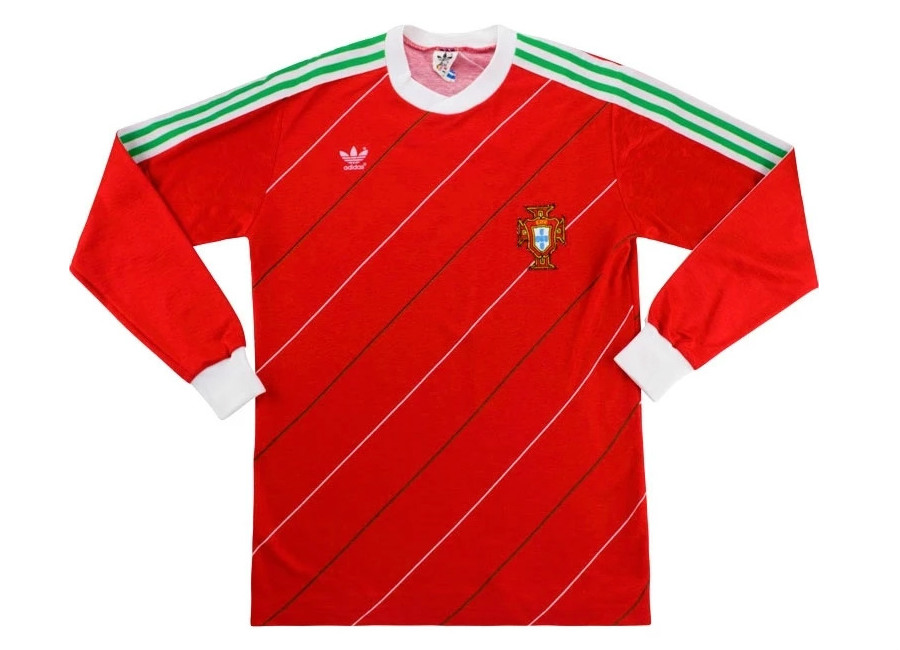 Adidas 1986 Portugal Match Worn Home Shirt