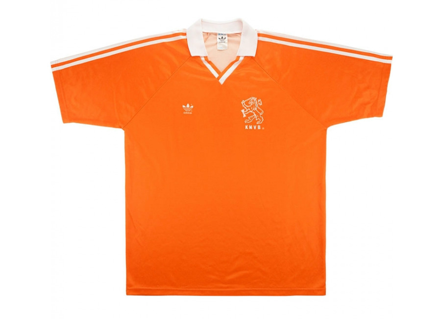 Adidas 1990 Holland Match Worn World Cup Home Sh