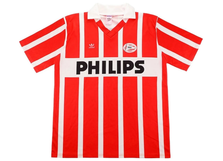 Adidas 1991-94 PSV Match Worn Home Shirt